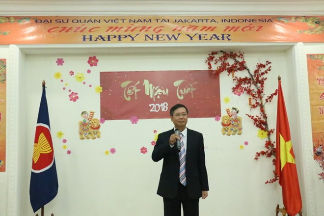 Overseas Vietnamese in Indonesia welcome Lunar New Year of Dog