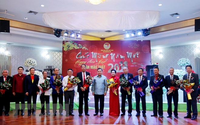 Overseas Vietnamese in Laos welcome Lunar New Year of Dog