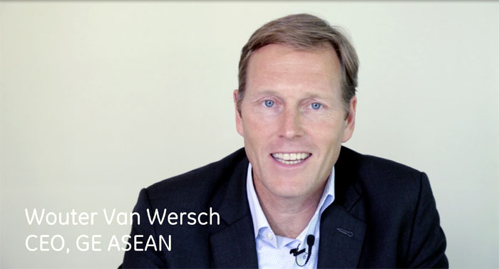 Wouter Van Wersch appointed President & CEO of GE APAC