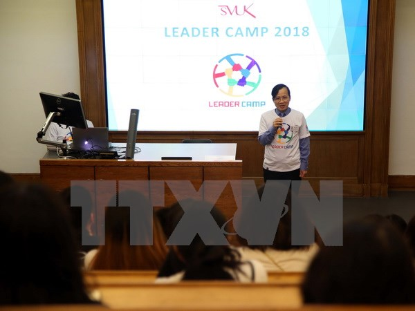 SVUK Leader Camp 2018 for Vietnamese students in UK