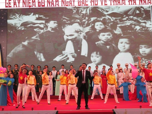Ha Nam marks six decades since Uncle Ho's visit