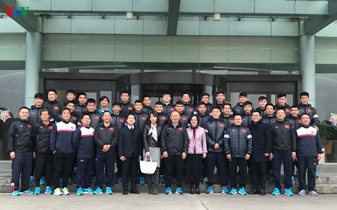Vietnamese Consulate General in Shanghai makes best effort to support U23 Vietnam