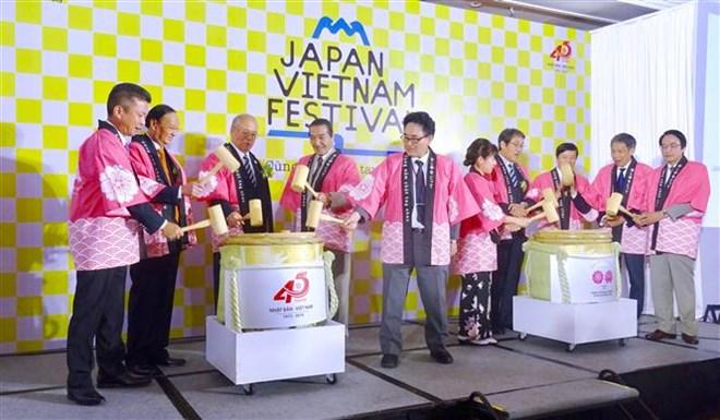 Fifth Vietnam-Japan festival opens in HCM City