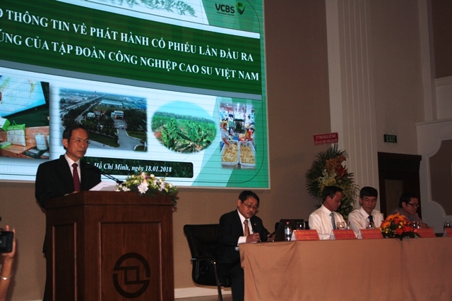 Vietnam Rubber Group to sell over 475 million shares to public