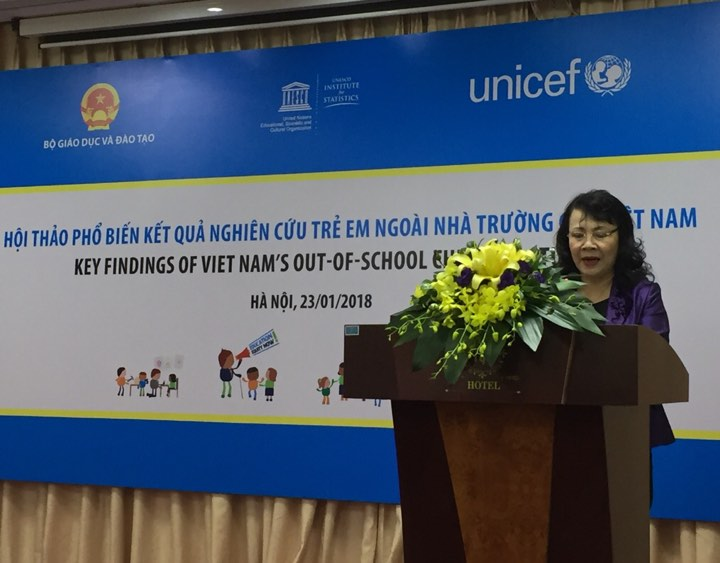 Vietnam: Out-of-school children tendency reduces significantly