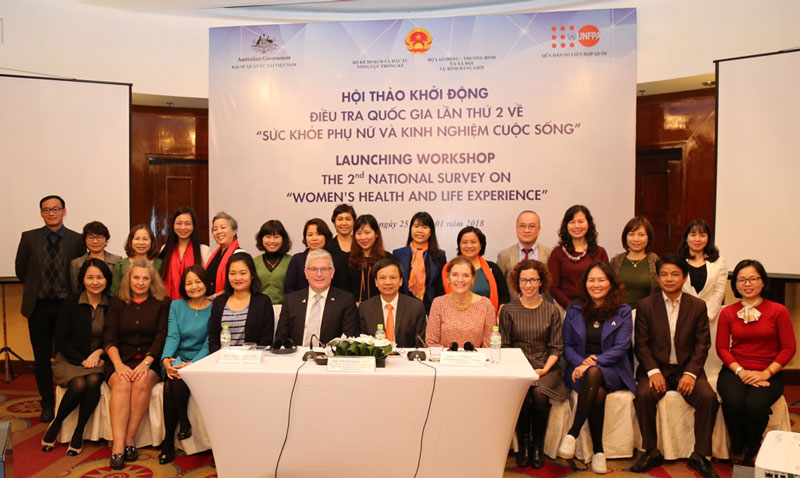 "Second national survey on ""Women's health and life experience"" launched"