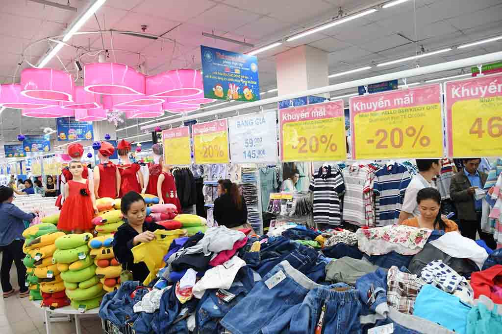 Saigon Co.op supermarkets offer discounts on 5,000 Tet products