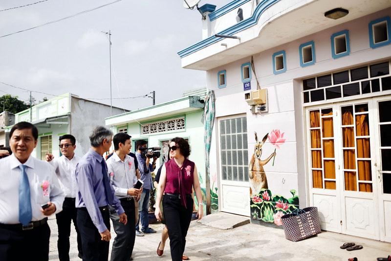 Australia - Vietnam mural village inaugurated
