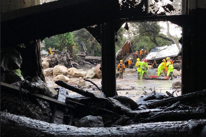 13 killed in Southern California landslides
