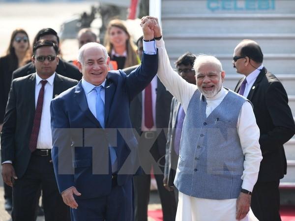 Israeli PM Israel Netanyahu begins 6-day visit to India