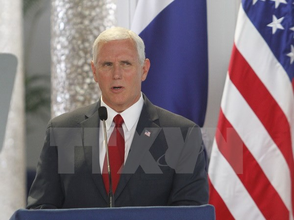 US Vice President Mike Pence visits Israel