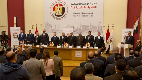 Egypt sets Presidential election date