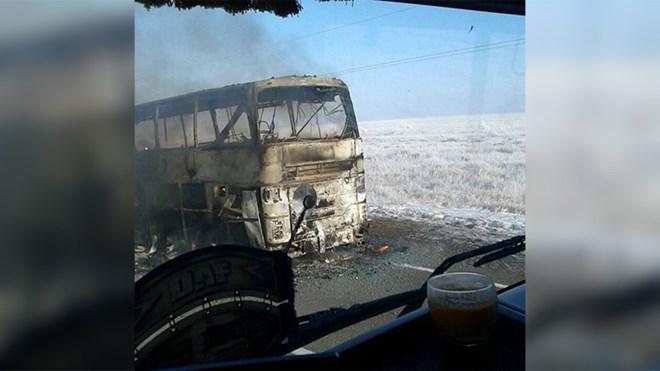 Bus fire in Kazakhstan kills 52 people