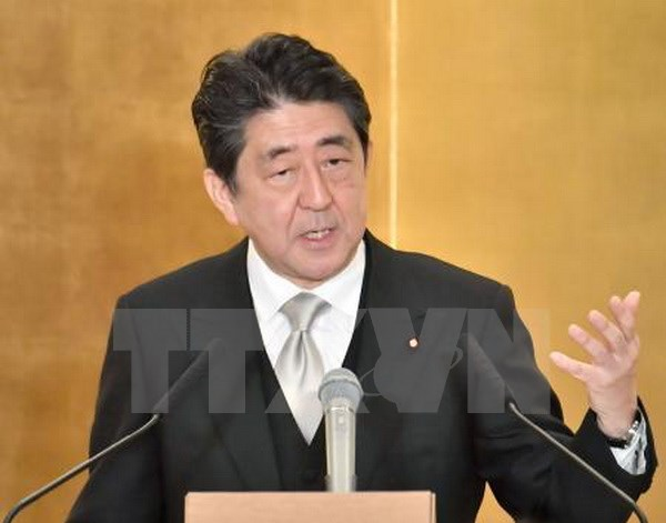 Japanese PM visits Baltic, Eastern European nations