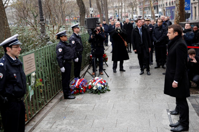 France marks third anniversary of Charlie Hebdo attack