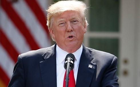 "US President Donald Trump says US ""could conceivably"" rejoin Paris deal"