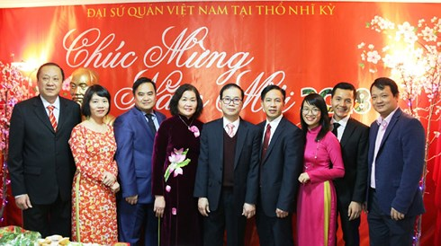 Vietnamese in Turkey welcome traditional Lunar New Year