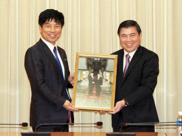 HCM City vows to foster cooperative ties with Japan