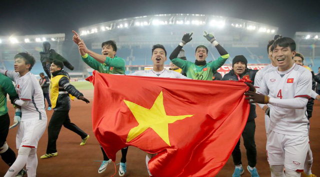 Overseas Vietnamese in Malaysia happy before U23 Vietnam team's victory