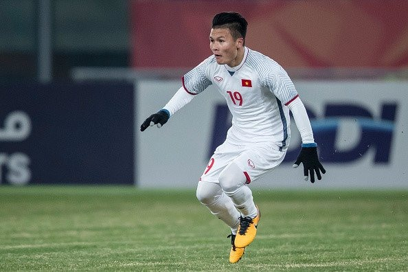 AFC honors Vietnamese midfielder's goal at U23 event