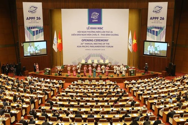 APPF annual meeting officially opens in Hanoi