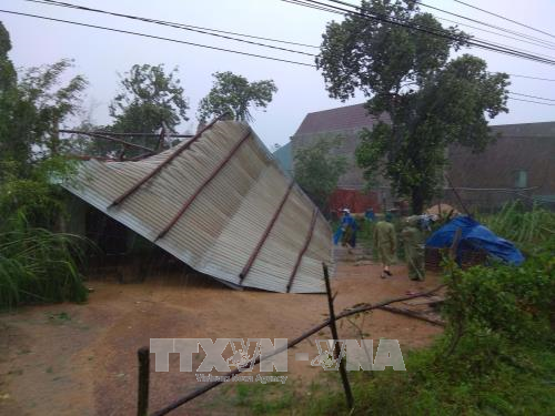 Binh Dinh province gives housing support to flood affected families