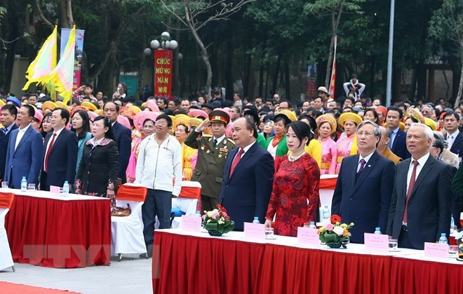 PM attends festival marking Ngoc Hoi - Dong Da victory