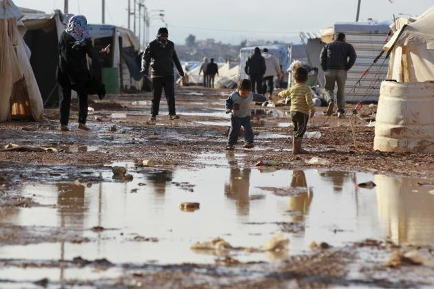 85% of registered Syrian refugee children are living below the poverty line