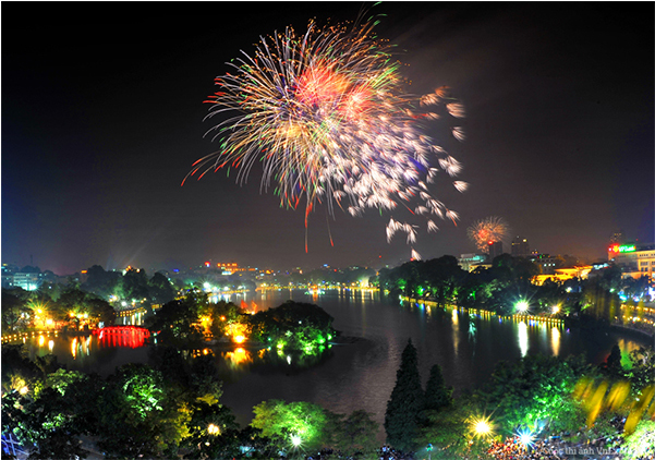 Hanoi capital: 31 fireworks shows to be put off to welcome Tet