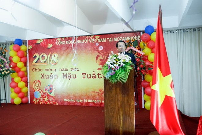 Overseas Vietnamese in Mozambique welcome Lunar New Year of the Dog