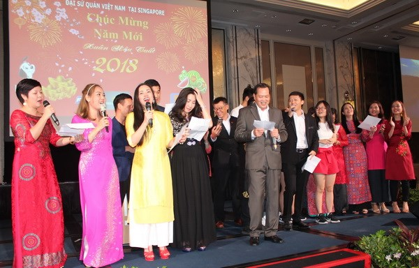 Lunar New Year Festival for overseas Vietnamese in Singapore