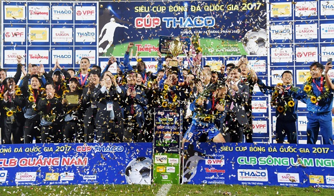 National Super Cup: Quang Nam grab first in narrow win