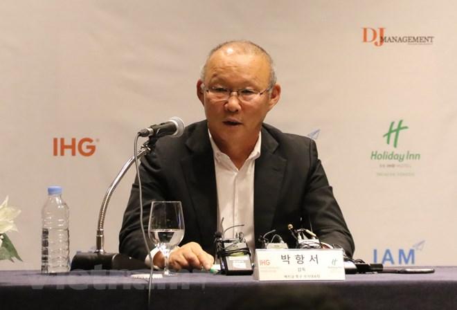 Head coach Park: Feeling happy, yet responsible for Vietnam's football