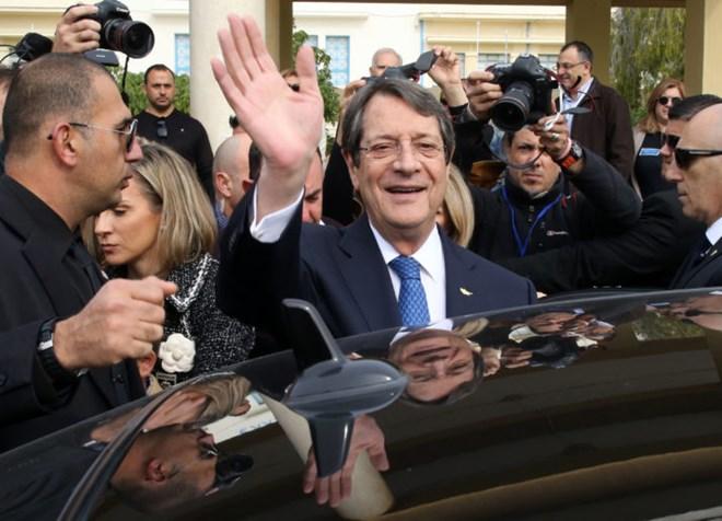 Cyprus President Nicos Anastasiades re-elected