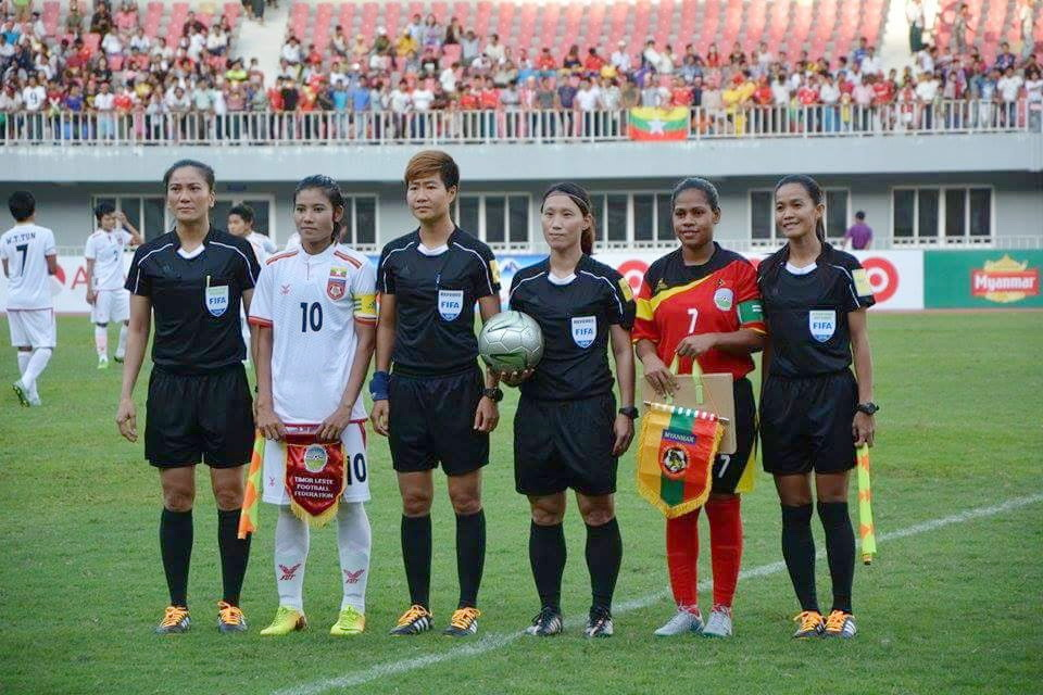 First Vietnamese female to referee international cup in Portugal