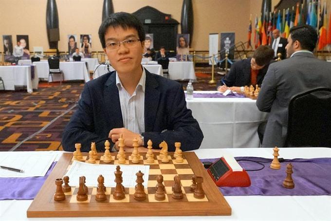Vietnam Grandmaster wins 8th match at Gibraltar Chess Festival