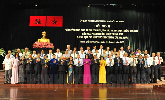 Ho Chi Minh city continues to lead localities in emulation campaign