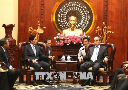 Phnom Penh's delegation learns experience from Ho Chi Minh city's urban development