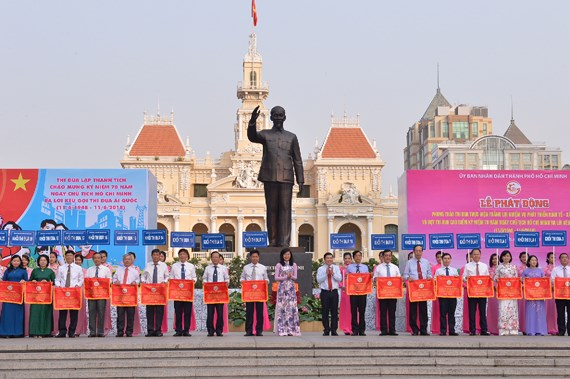 Ho Chi Minh city launches emulation movements
