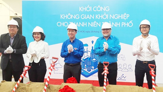 Ho Chi Minh city inaugurates start-up space for youth