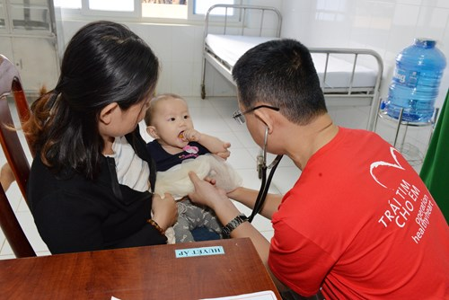 Group helps save children's hearts