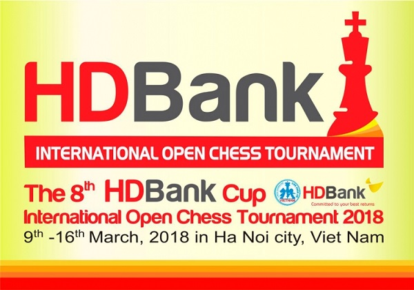 Hanoi to host first HDBank Cup International Open Chess tour