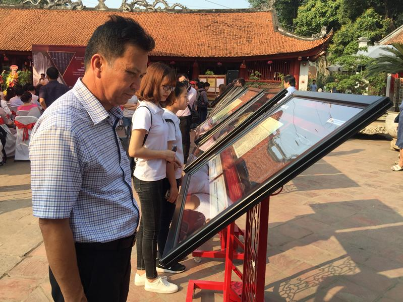 Exhibition on former Vietnamese education and examinations in Hanoi