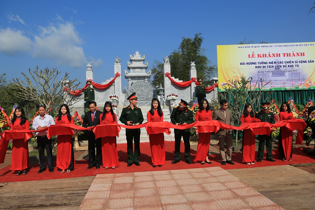 Statuary to commemorate communist soldiers inaugurated in Quang Ninh