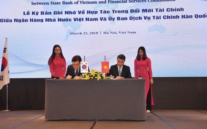 Vietnam, RoK tighten financial cooperation