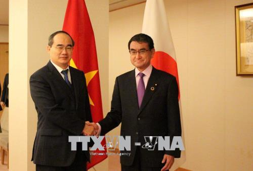 Party Committee Secretary visits Japan
