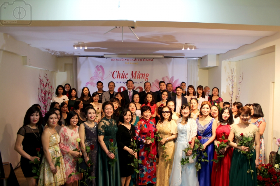 Vietnamese women in Romania mark International Women's Day