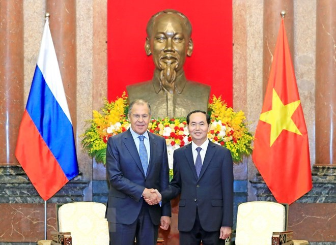 President: Vietnam wants to beef up multifaceted ties with Russia
