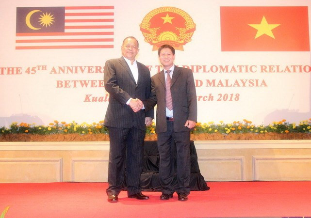 45th anniversary of Vietnam - Malaysia diplomatic relationship marked
