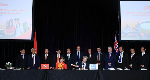 Vietjet to open direct air route between HCM city and Brisbane